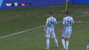 Resum de l'Argentina-Paraguai (1-0)