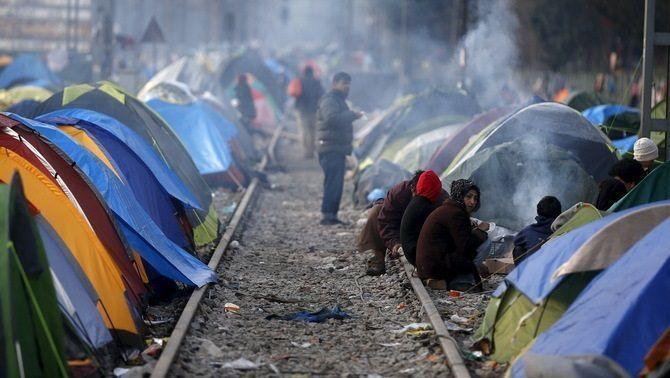 Merkel es va guanyar el reconeixement internacional amb la seva política d'acollida dels refugiats sirians (Europa Press)