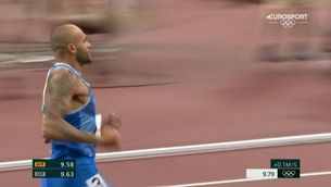 Lamont Marcell Jacobs guanya l'or als 100 metres llisos de Tòquio 2020