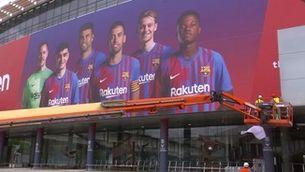 La nova cara del Camp Nou, amb Ansu Fati i Pedri