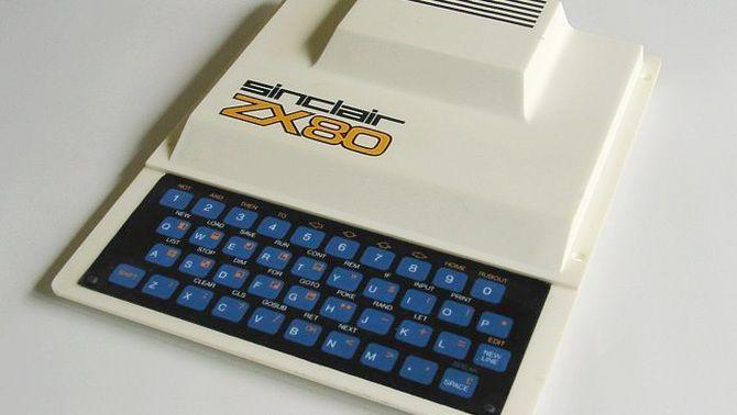 El ZX80 de Sinclair