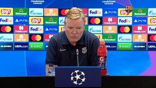 Koeman no veu un partit decisiu a Lisboa