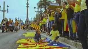 Els moments essencials de la Via Catalana a Barcelona