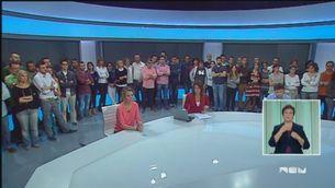 Els treballadors de Canal 9 es mobilitzen