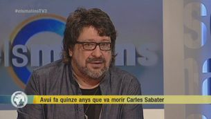 Recordem Carles Sabater amb Pep Sala
