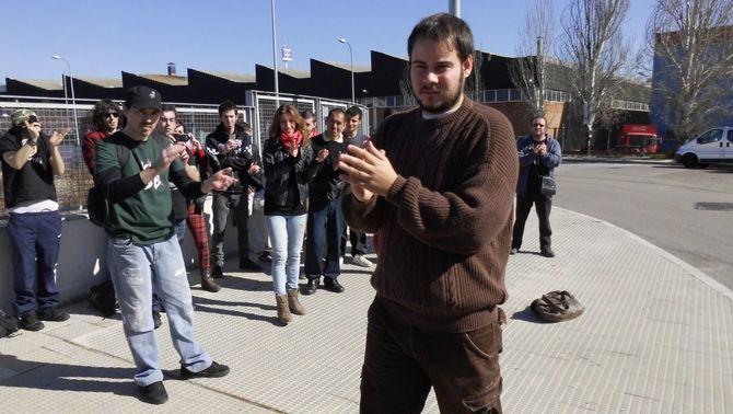 Detingut el raper Pablo Hasel acusat d'agredir periodistes durant la tancada a la UdL
