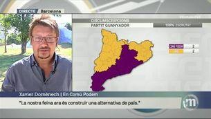 """Domènech: """"La nostra feina ara és construir una alternativa de país"""""""