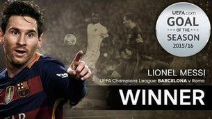 Messi fa el millor gol de l'any