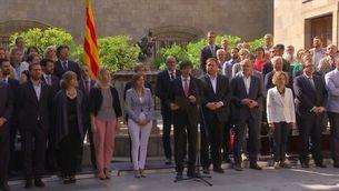 El govern insisteix que les respostes sobre el referèndum es donaran el 4 de juliol