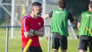 Garcia Pimienta es farà càrrec del Barça B