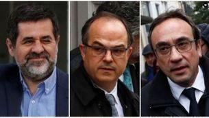 Jordi Sànchez, Jordi Turull i Josep Rull