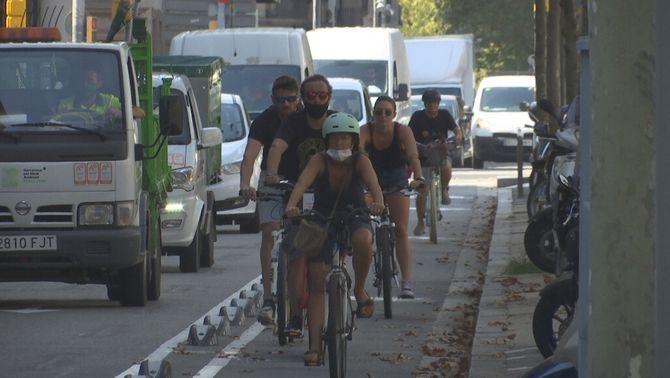 La Covid canvia com moure's a la ciutat: més cotxes i bicis i menys transport públic