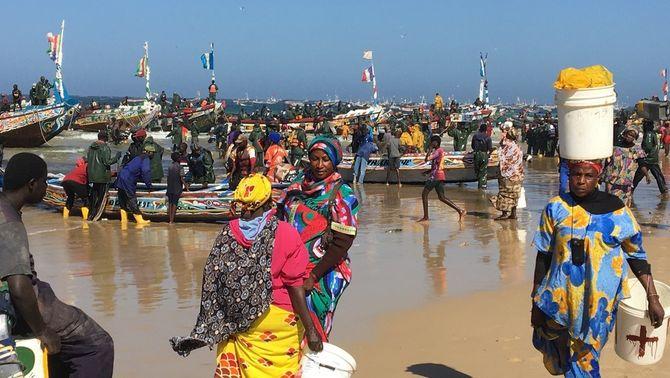 El Senegal, un país empès a arriscar-ho tot a la recerca d'El Dorado europeu