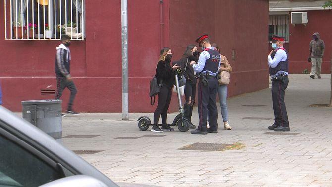 Detenen un menor acusat de cinc robatoris violents en tres hores a altres menors a Barcelona