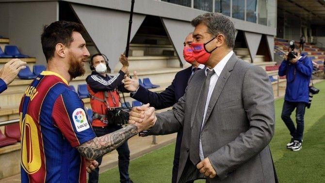 Messi, compte enrere per a la seva renovació amb el Barça