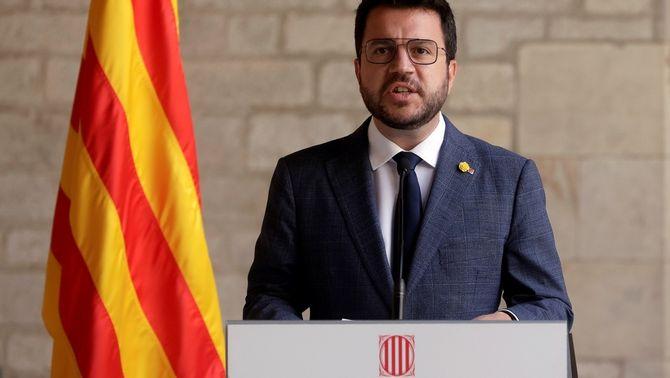Ultimàtum d'Aragonès a Junts: els membres de la taula de diàleg han de ser del govern