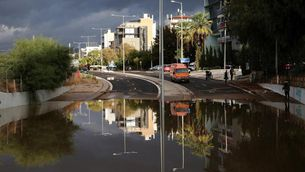Inundacions sobtades al sud de Grècia