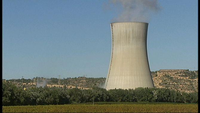 La central nuclear d'Ascó