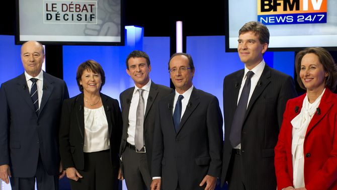 Els candidats de les primàries del socialistes francesos