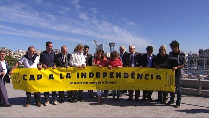 L'ANC vol que la cadena humana per la independència superi els 400 quilòmetres