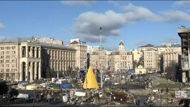 El president interí d'Ucraïna decreta una mobilització parcial de reservistes