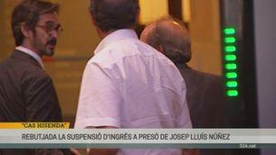 Rebutjat el recurs de Josep Lluís Núñez