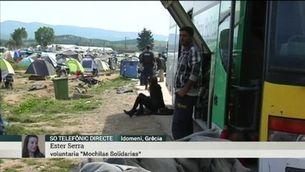"""Una voluntària des d'Idomeni: """"És desolador, hi ha desesperació"""""""
