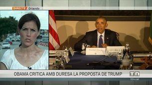 Obama critica amb duresa la proposta de Trump