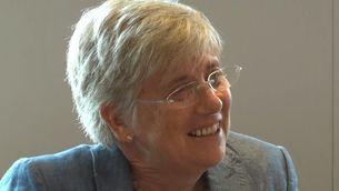 La consellera d'Ensenyament, Clara Ponsatí