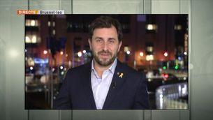 """Entrevista a Toni Comín, membre del Consell per la República: """"Hem de treballar per fer efectiu el mandat de l'1-O"""""""