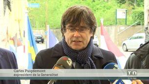 Puigdemont, Comín i Ponsatí defensen la seva candidatura des de Schengen