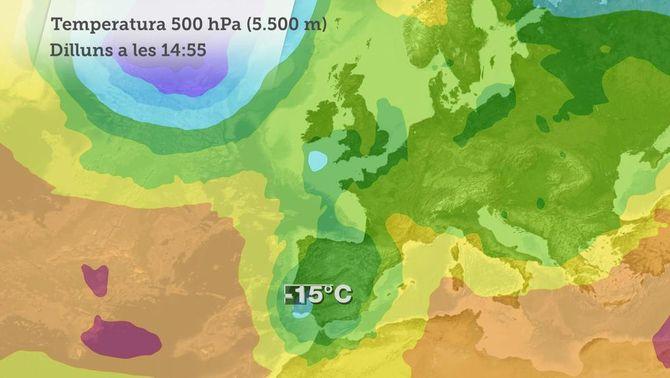 El temps de la A a la Z: embossament d'aire fred o DANA