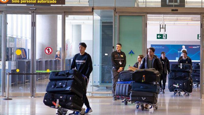 Arriba a Màlaga l'equip de futbol de Wuhan sense rastre de coronavirus
