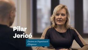 """Pilar Jericó: """"Hi passem massa temps, a la feina, per deixar-ne a fora la felicitat"""""""