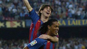 """Ronaldinho: """"Em va fer molt feliç que Messi guanyés la Copa Amèrica"""""""