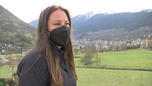 La nova vida de la campiona paralímpica de snowboard Astrid Fina a la Vall d'Aran