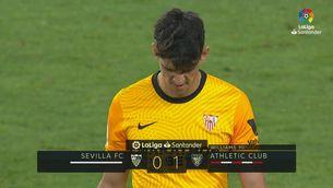 Resum del Sevilla-Athletic (0-1)