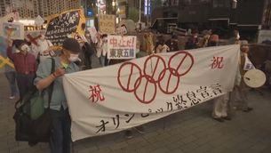 Protestes al Japó contra els Jocs Olímpics de Tòquio