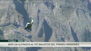 Mor un alpinista de Barcelona al pic Balaitús, al Pirineu aragonès