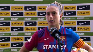 """Alexia Putellas: """"És important començar guanyant després de l'aturada per seleccions"""""""