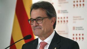Mas, en roda de premsa després de la reunió amb Rajoy ( Foto: EFE)