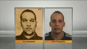 Imatge d'arxiu dels germans Saïd i Chérif Kouachi