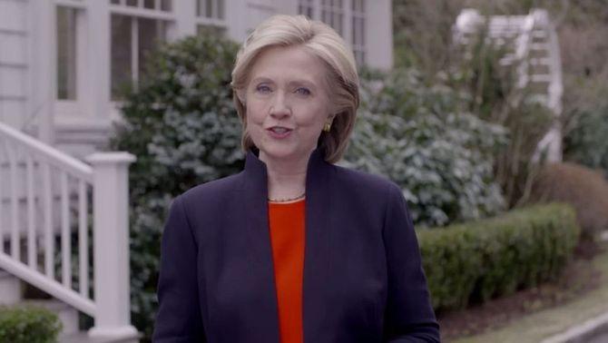Hillary Clinton anuncia la seva candidatura a la Casa Blanca per a les presidencials del 2016