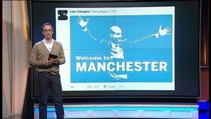 Liam Gallagher dóna la benvinguda a Guardiola al City