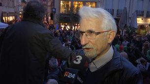 Manifestació a Perpinyà per commemorar el tractat dels Pirineus i celebrar el final del Correllengua amb més de mil persones