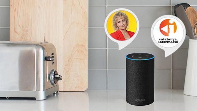 Catalunya Ràdio i TV3, primers mitjans a oferir continguts en català a l'Alexa d'Amazon