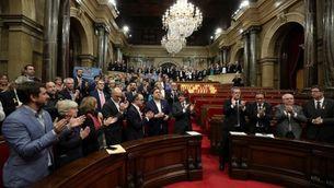 Aprovació al Parlament de la República pel 27-O (Reuters)