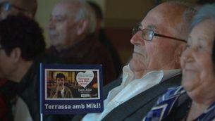 Terrassa, la ciutat del cantant Miki Núñez, es bolca per seguir Eurovisió