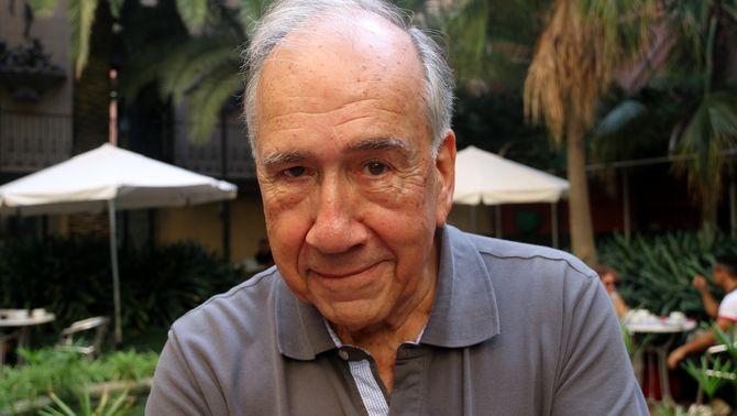 El poeta Joan Margarit, Premi Cervantes del 2019