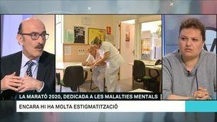"""Enric Álvarez: """"L'objectiu davant una malaltia mental és que el pacient recuperi la seva vida"""""""